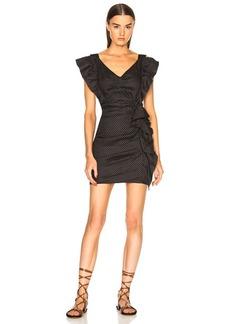 Isabel Marant Etoile Topaz Chic Linen Strapless Dress