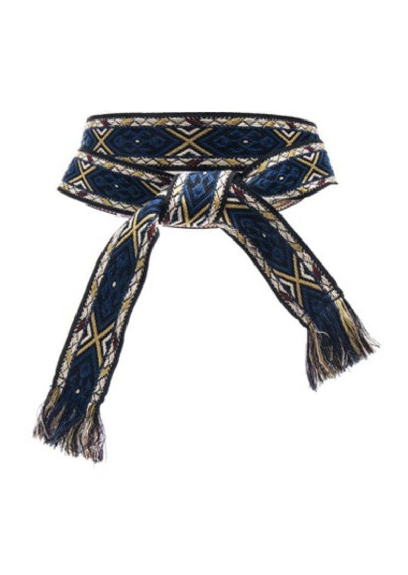 Isabel Marant Etoile Ulan Carpet Belt