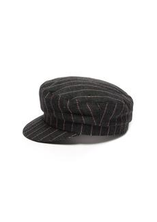 Isabel Marant Evie striped linen cap