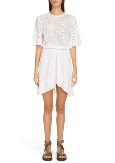 Isabel Marant Eyelet High/Low Dress