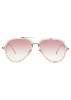 Isabel Marant Eyewear Windsor aviator acetate sunglasses