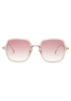 Isabel Marant Eyewear Windsor square acetate and metal sunglasses