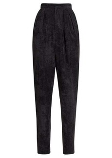 Isabel Marant Fany corduroy high-rise trousers