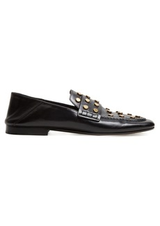Isabel Marant Feenie collapsible-heel leather loafers