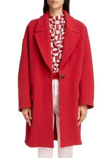 Isabel Marant Fego Wool Blend Coat