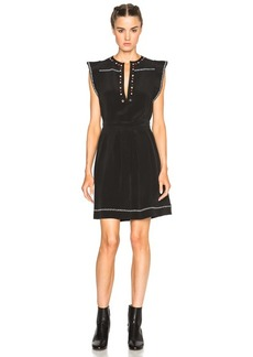 Isabel Marant Fergie Eyelet Embroidery Dress
