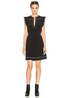 Isabel Marant Fergie Eyelet Embroidery Dress