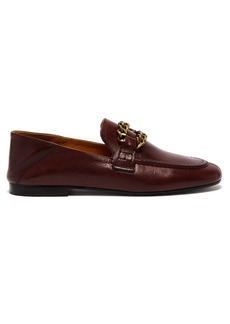 Isabel Marant Firlee collapsible-heel leather loafers
