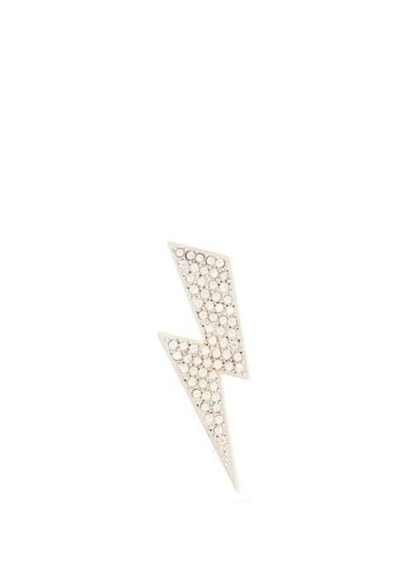 Isabel Marant Flash Swarovski crystal-embellished brooch