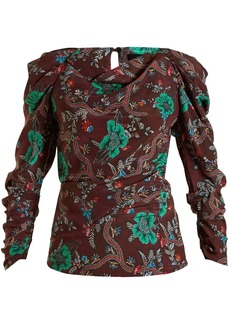 Isabel Marant Floral-print top
