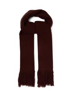 Isabel Marant Fringed cashmere wrap scarf