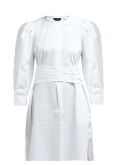 Isabel Marant Galaxy belted cotton shirt dress
