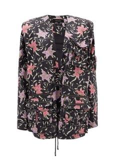 Isabel Marant Galdino floral-print cotton jacket