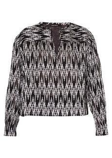 Isabel Marant Gaomi jacquard blouse