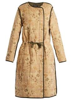 Isabel Marant Geist floral-print velvet coat