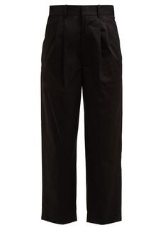 Isabel Marant Grayson wide-leg cropped trouser