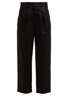 Isabel Marant Grayson wide-leg cropped trouser