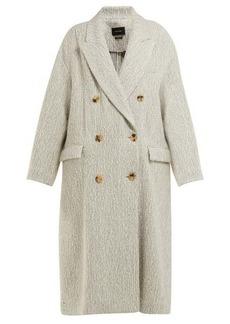 Isabel Marant Habra alpaca-bend blanket coat