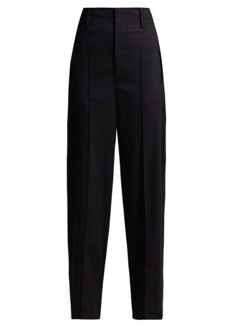 Isabel Marant Hami striped wool-blend trousers