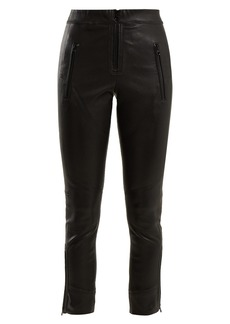 Isabel Marant Happy skinny leather trousers
