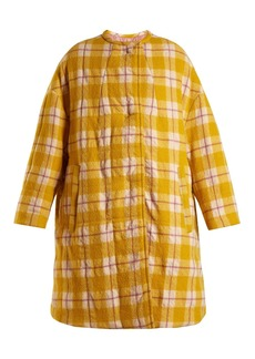 Isabel Marant Harrison reversible checked coat