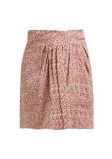 Isabel Marant Hemen floral-print mini skirt