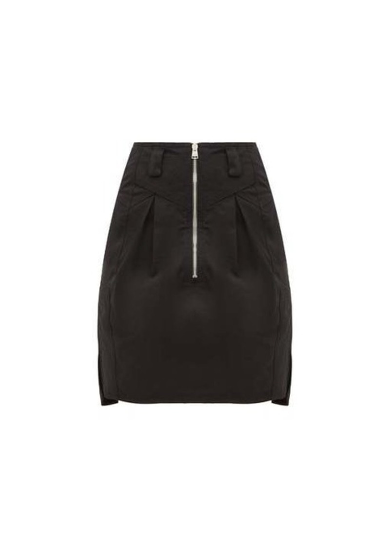 Isabel Marant Hera panelled cotton-canvas mini skirt
