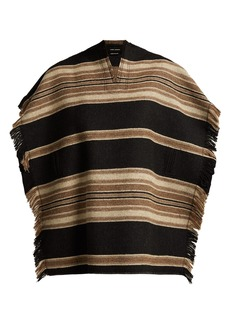 Isabel Marant Hollis wool-blend poncho