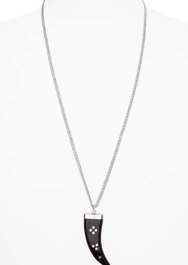 Isabel Marant Horn Pendant Necklace