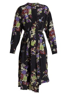 Isabel Marant Iam floral-print silk dress