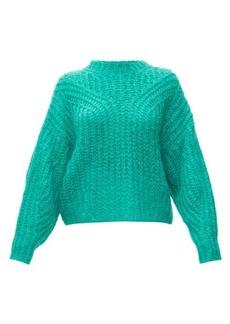 Isabel Marant Inko pointelle mohair-blend sweater