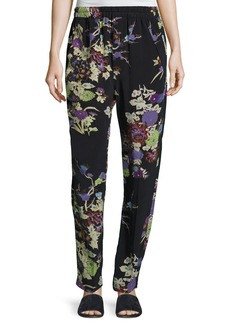 Isabel Marant Isley Floral Bouquet Printed Pajama Pants