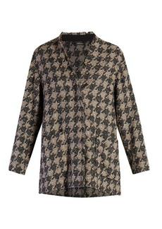 Isabel Marant Jameson hound's-tooth tweed jacket