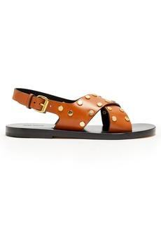 Isabel Marant Jane stud-embellished leather sandals