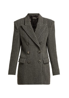 Isabel Marant Jaxen double-breasted wool-blend jacket