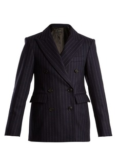 Isabel Marant Jeta double-breasted striped wool-blend jacket