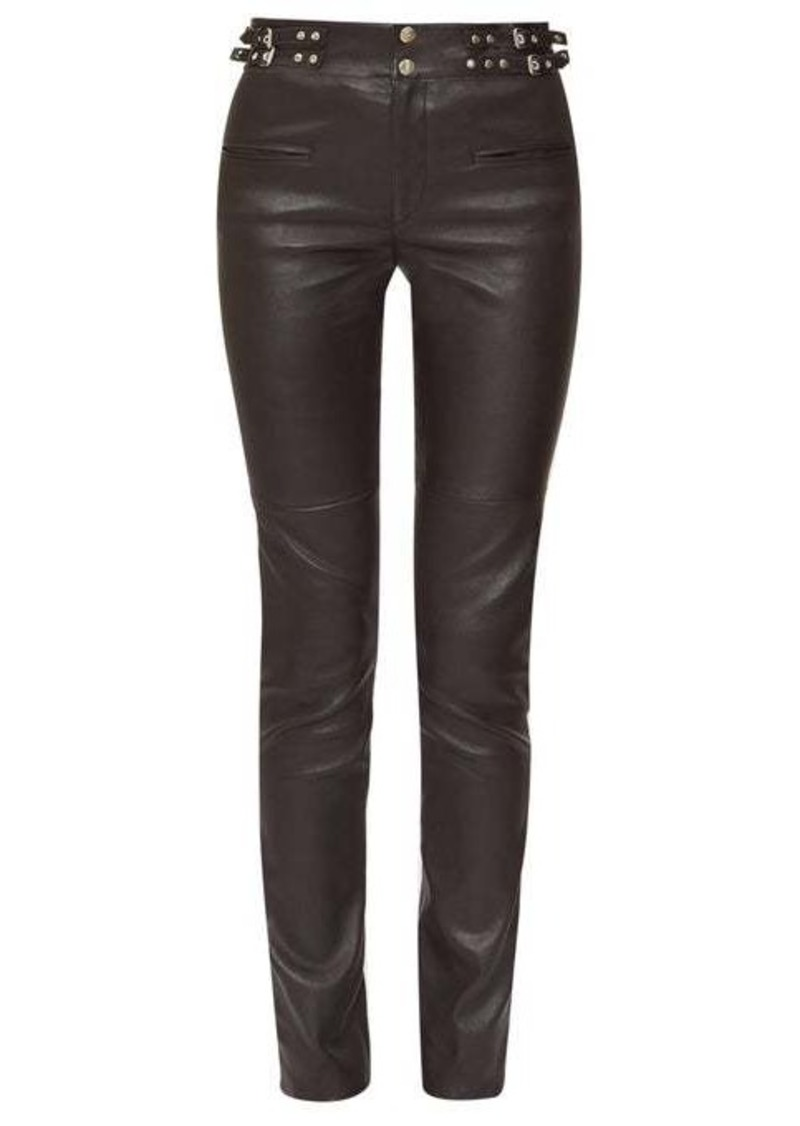 Isabel Marant Jeydie leather trousers