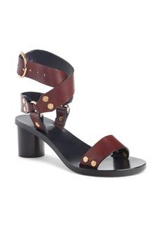 Isabel Marant Jeyka Studded Moto Sandal (Women)