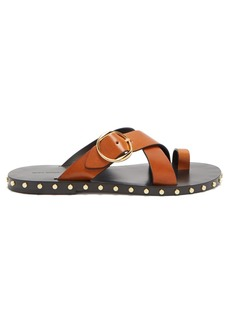 Isabel Marant Jonya stud-embellished leather sandals