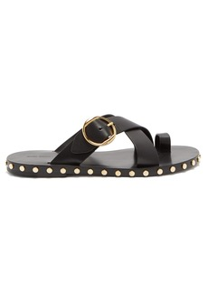 Isabel Marant Jonya toe ring leather sandals
