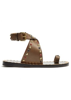Isabel Marant Jools embellished leather sandals