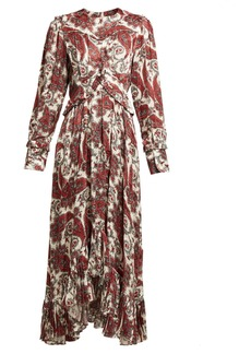 Isabel Marant Jorja paisley-print silk-blend dress