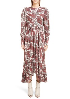 Isabel Marant Jorja Silk Blend Dress