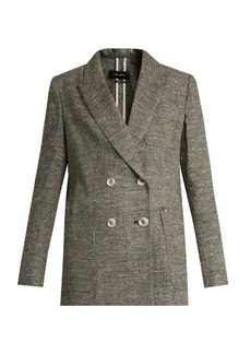 Isabel Marant Kelis double-breasted donegal jacket