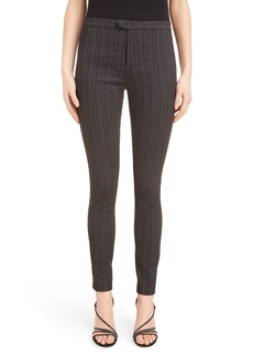 Isabel Marant Kenton Pinstripe Stretch Pants