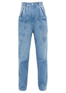 Isabel Marant Kerris high-rise tapered-leg jeans