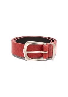 Isabel Marant Kidatt snake-effect leather belt