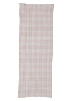 Isabel Marant Kuzanne Check Wool & Cashmere Scarf