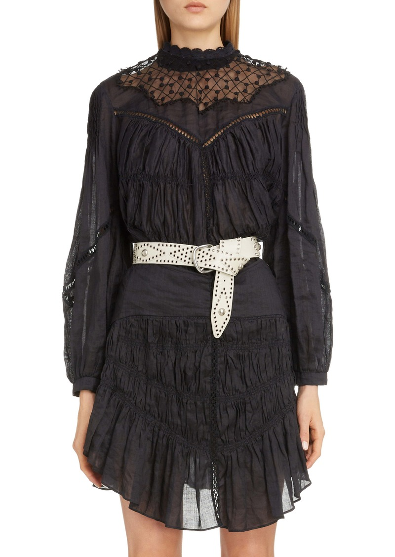 Isabel Marant Lace Yoke Top