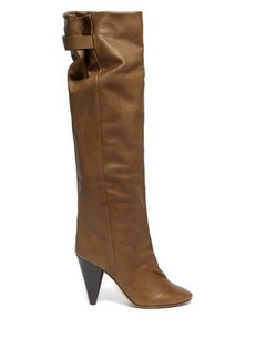 Isabel Marant Lacine over-the-knee leather boots
